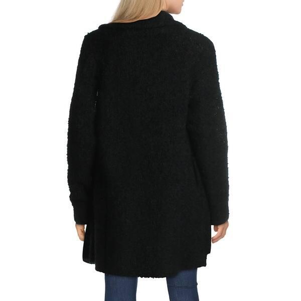 Joie Solome Women/'s Wool Blend Fuzzy Open Front Shawl Collar Cardigan Sweater