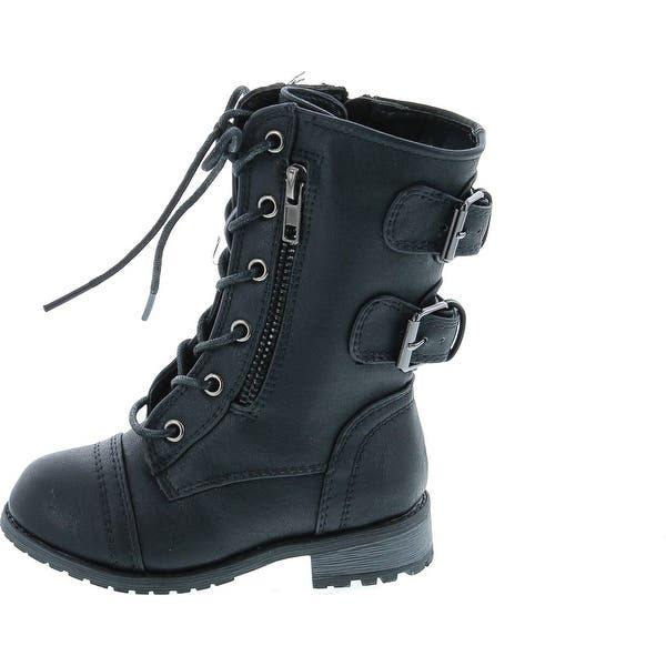combat boots for toddler girls