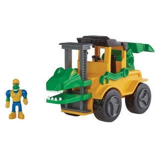 Educational Insights Dino Construction The Velociraptor Forklift, Set of 2