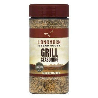 Longhorn Steakhouse Signature Blend Grill Seasoning, 6 OZ (Pack of 6)