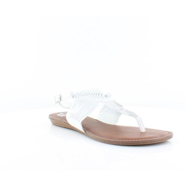 Fergalicious Sadey Women's Sandals & Flip Flops White - 10