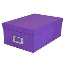Pioneer Photo Albums B1S-BRPU Photo Storage Box (Bright Purple)
