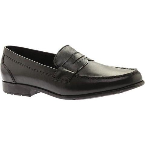 Rockport Men's Classic Loafer Lite Penny Black II Leather