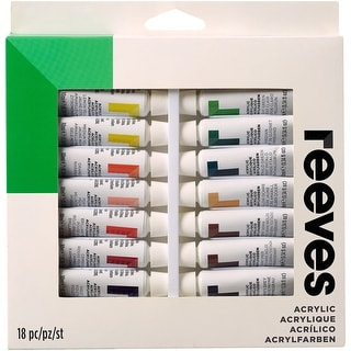 Reeves Acrylic Paints 10Ml 18/Pkg