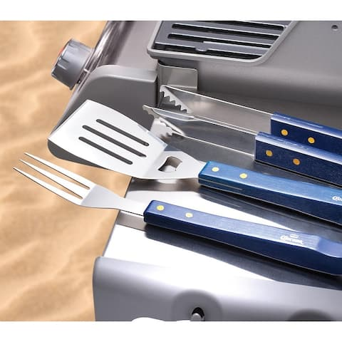 Corona 3 Piece Stainless Steel Grilling Tool Set