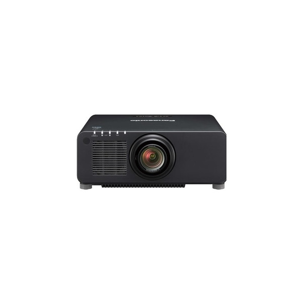 Panasonic PT-RZ970BU WUXGA DLP Laser Projector with Standard Lens- Black