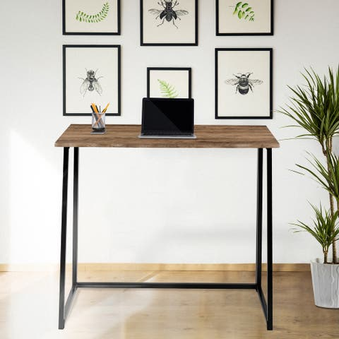 Small Home Office Folding Computer Desk - Laptop Desk