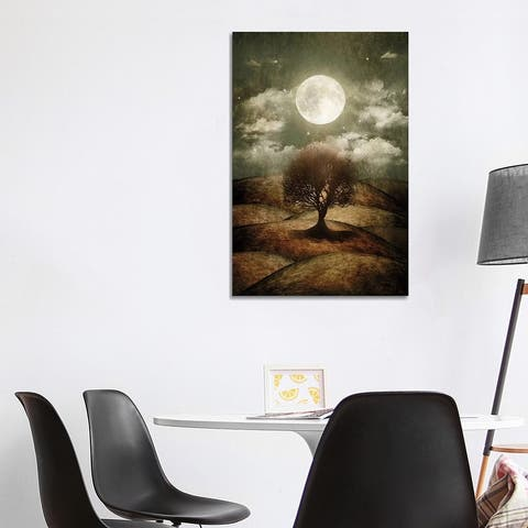 """iCanvas """"Once Upon A Time... The Lone Tree"""" by Viviana Gonzalez Canvas Print"""