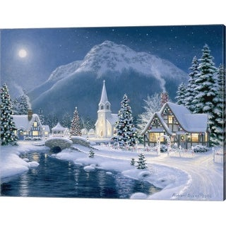 Link to Richard Burns 'Christmas Village' Canvas Art Similar Items in Christmas Decorations