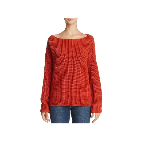 936701aa59c French Connection Womens Millie Mozart Pullover Sweater Knit Boatneck