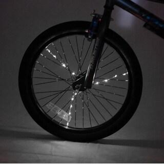 Spoke Brightz LED Bicycle Spoke Accessory, White - multi