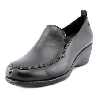 Hush Puppies Vanna Cleary Square Toe Leather Loafer