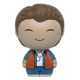 Funko Dorbz: Back to the Future - Marty McFly Action Figure - Multi-Colored