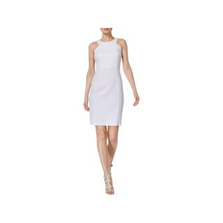 Calvin Klein Womens Wear to Work Dress Textured Sleeveless (5 options available)