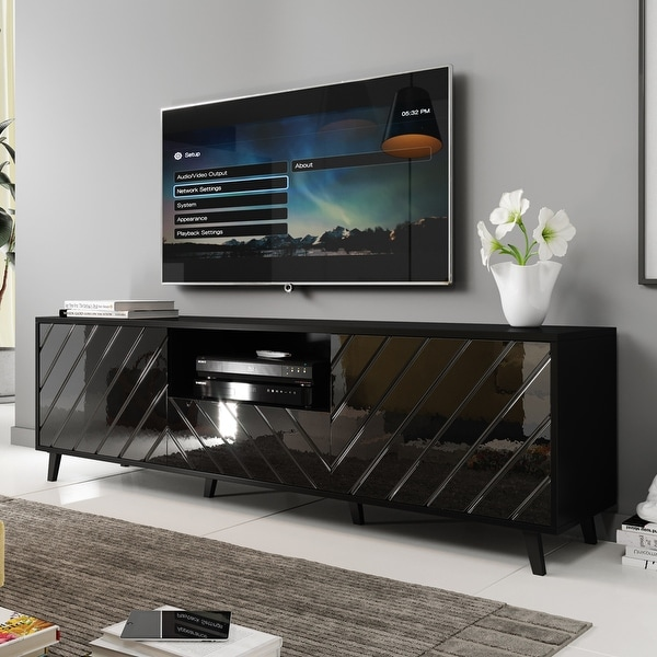 Paris Modern 71-inch TV Stand. Opens flyout.