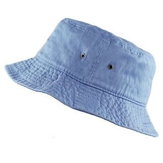 Bucket Hat 100% Cotton Packable Summer Travel