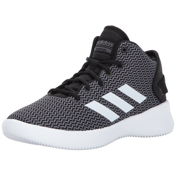 adidas NEO Men's CF Refresh Mid Basketball Shoe - black/white