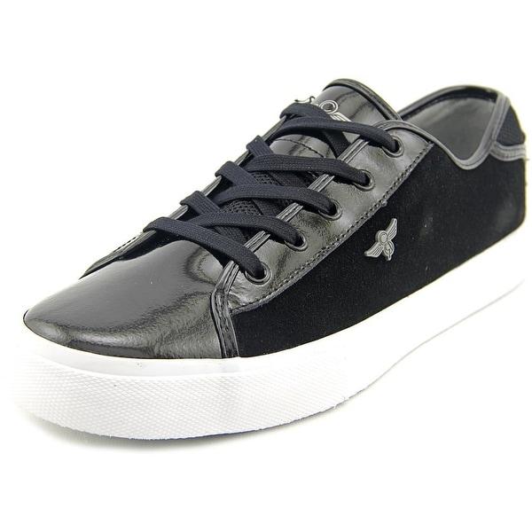 Creative Recreation Kaplan Men Round Toe Suede Black Sneakers