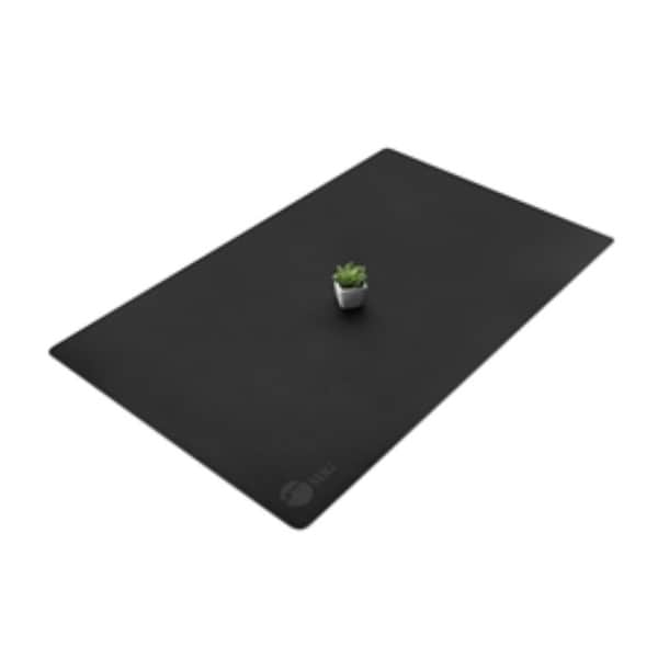SIIG Accessory CE-PD0412-S1 Large Leather Smooth Desk Mat Protector Black Retail