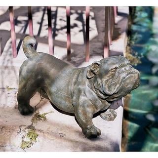 Design Toscano Brutus, the English Bulldog Sculpture