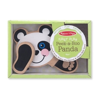 Melissa & Doug 4031 Peek-A-Boo Panda Baby And Toddler Toy