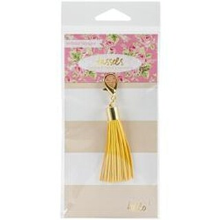 Yellow - Tassel Charm Embellishment
