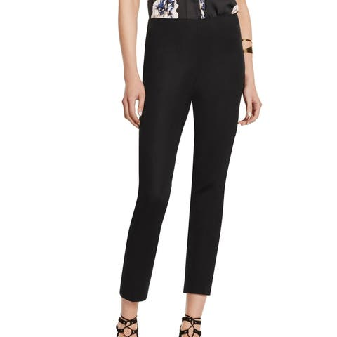 Vince Camuto Womens Pants Black Size Small S Stretch Pull On Ankle Crop