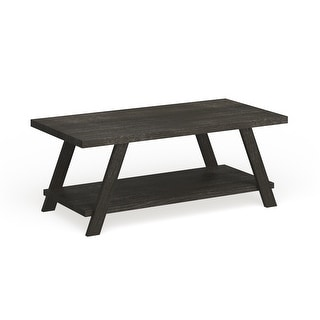 Link to The Gray Barn Cedar Ridge Contemporary Replicated Wood Shelf Coffee Table Similar Items in Living Room Furniture
