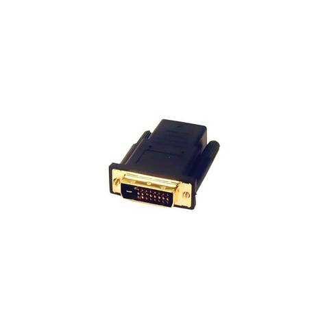 Comprehensive HDJ-DVIDP Comprehensive HDMI Jack to DVI-D Plug Adapter - 1 x HDMI Female Digital Audio/Video - 1 x DVI-D Male