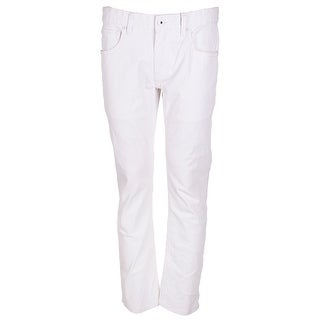 Inc International Concepts Mens Haring White Five Pocket Skinny Jean 38