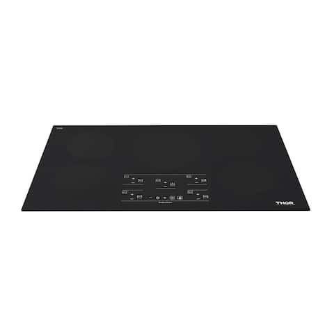 """Thor Kitchen HIC3601 36"""" Wide 5 Burner Induction Cooktop with Control Lockout"""