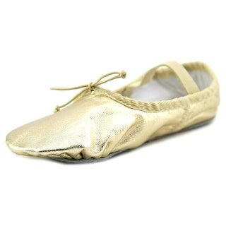 Dance Class By Trimfoot Company Ballet Youth Synthetic Gold Ballet Flats