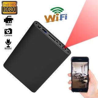 AGPtEK Mini WIFI 1080P HD Spy Hidden IP Camera Power Bank Wireless Video