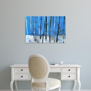 Easy Art Prints Paul Bailey's 'Birch and Black Ash Saplings' Premium Canvas Art