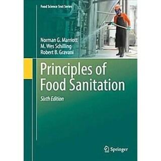 Principles of Food Sanitation - Robert B. Gravani, Norman Marriott, et al.