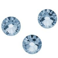 Swarovski Elements Crystal, Round Flatback Rhinestone SS34 7mm, 12 Pieces, Denim Blue