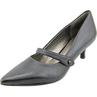 Trotters Petra N/S Pointed Toe Leather Heels