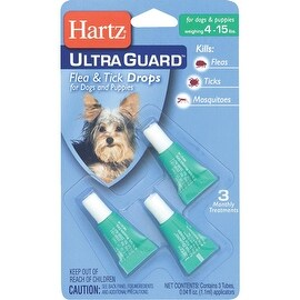 Hartz 4-15Lb Hug F&T Drops