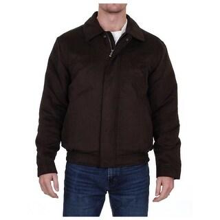 Weatherproof Mens Bomber Jacket Winter Microsuede