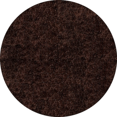 Momeni Luster Shag Hand Tufted Polyester Contemporary Solid Shag Rug