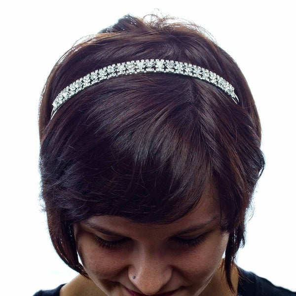 Mint Condition Metal Rhinestone Headband