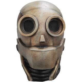 Ghoulish Masks Robot 1.0 Adult Mask - Brown