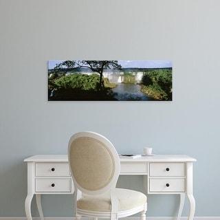 Easy Art Prints Panoramic Images's 'Iguacu Falls, Iguacu National Park, Brazil' Premium Canvas Art