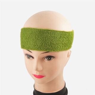 Hairstyle DIY Shower Elastic Headband Hair Band Green 2 Pcs