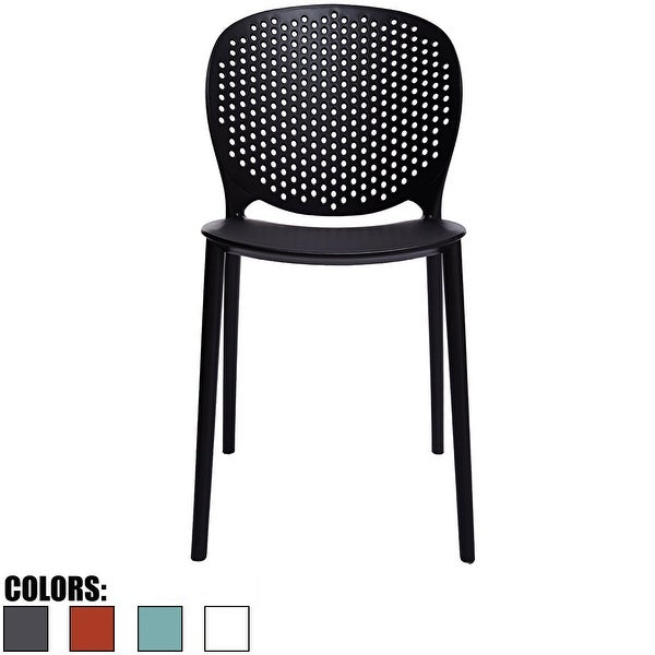 2xhome Designer Stackable Plastic Armless Side No Arms Dining Pool Chair Desk Outdoor Garden Patio