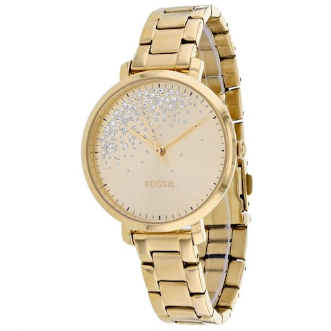 Fossil Women's Jacqueline Gold Watch - ES4777 - One Size