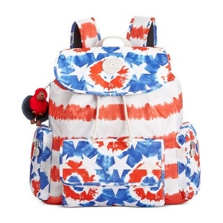 Kipling Womens Kirsty Backpack Printed Drawstring