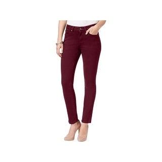 Earl Jean Womens Skinny Jeans Colored 5 Pocket