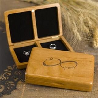 Hortense B Hewitt 22350 Infinity Wooden Ring Box