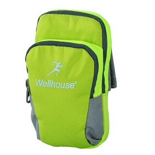 Wellhouse Authorized Adult Phone Holder Outdoor Sports Arm Bag Fluorescent Green